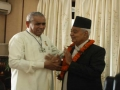 His Excellency Mr Parmanand Jha the Vice President of Nepal