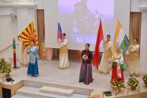 4-Opening ceremony of Vamily Values retreat for Chinese group